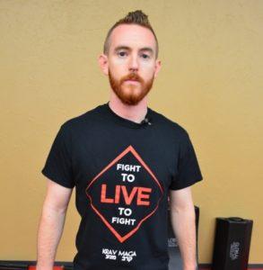 Michael bio shot live to fight shirt_400