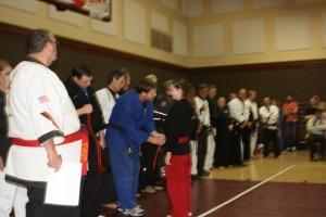 Martial Arts Belt Test Sensei Jon Hodge