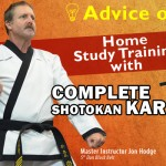 Advice on Home Study Training with Complete Shotokan Karate