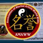 All Rank Earned is Recognized by the Association of Martial Artists World Wide!