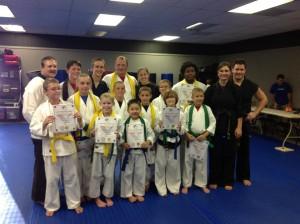 Earning Rank in Martial Arts