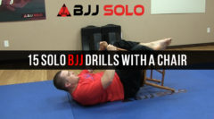 15 Solo BJJ Drills Using a Chair as Your Partner