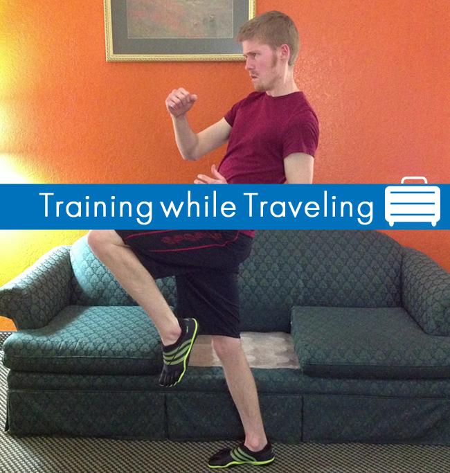 training while traveling main image